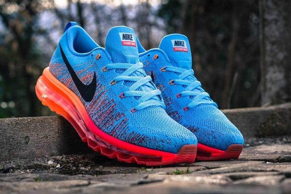 Nike Air Max Flyknit blue