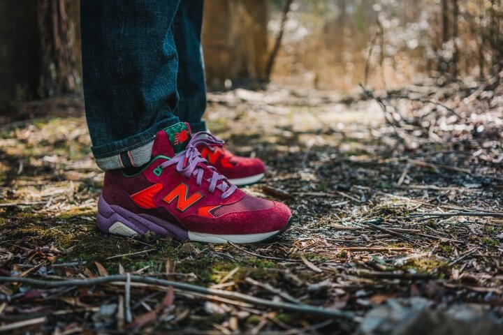 Кроссовки Packer Shoes x New Balance MT580