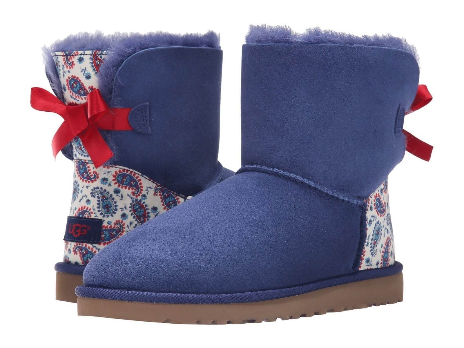 UGG Mini Bailey Bow Liberty Blue
