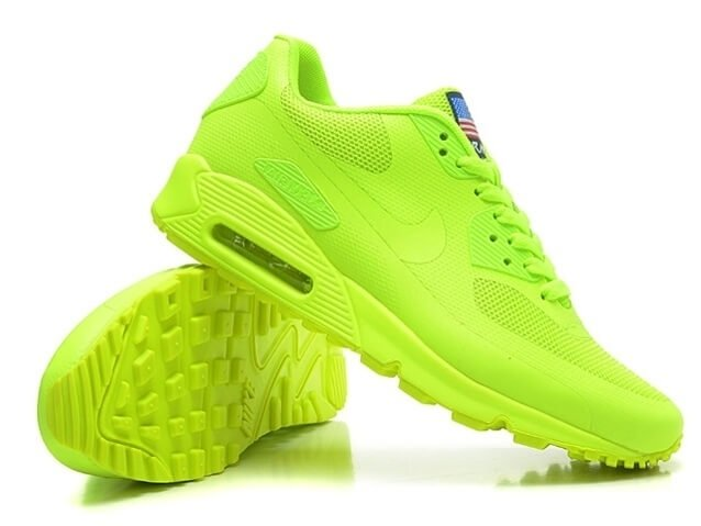 9392ec5083a9 ... ebay nike air max 90 hyperfuse independence day electric green 4004b  a771e