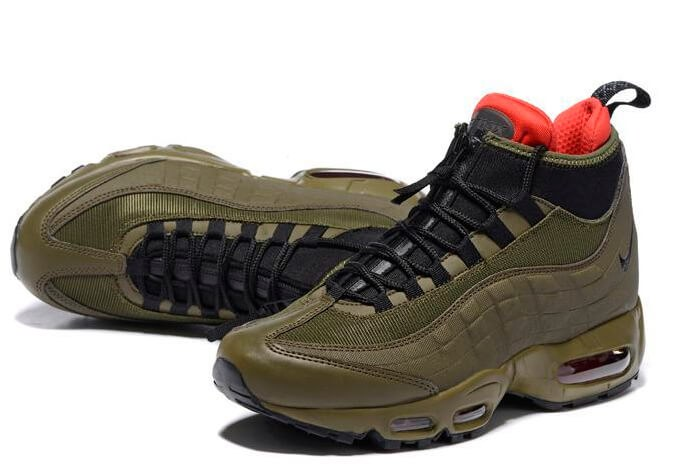 coupon code for nike air max 95 sneakerboot brown red 55bc3