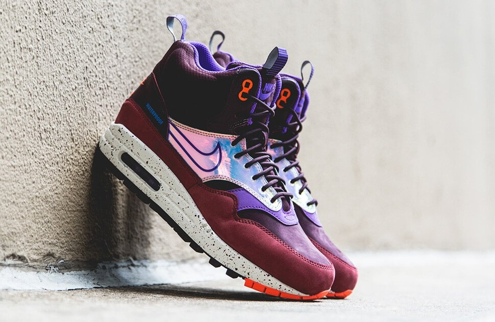 Кроссовки Nike Air Max 90 Mid Waterproof