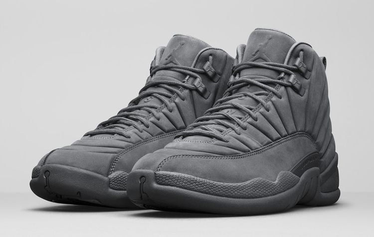 Кроссовки Air Jordan 12 Retro «Grey»