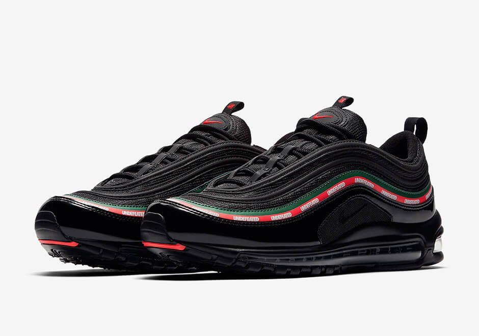 "Кроссовки Undefeated x Nike Air Max 97 ""Black"""