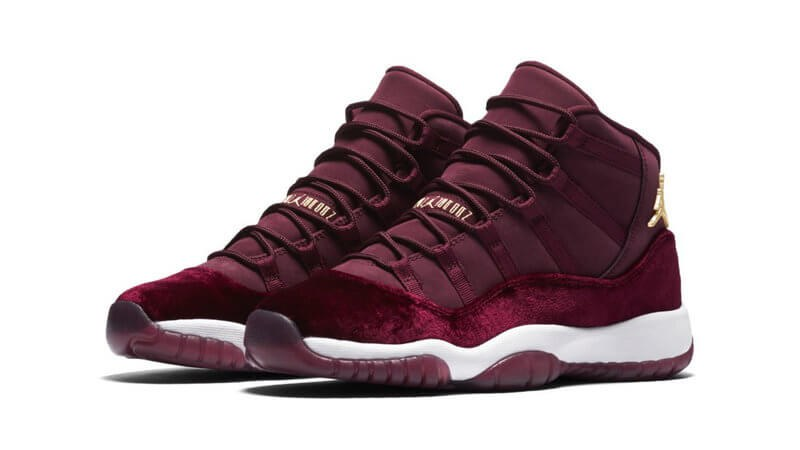 "Кроссовки Nike Air Jordan 11 Retro ""Heiress"" Bordo"