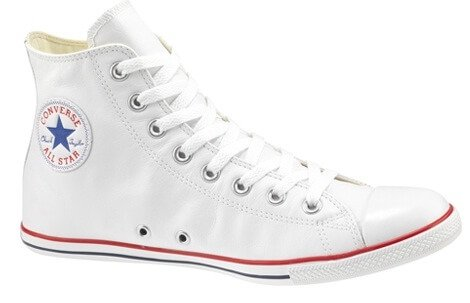 Converse All Stars White High