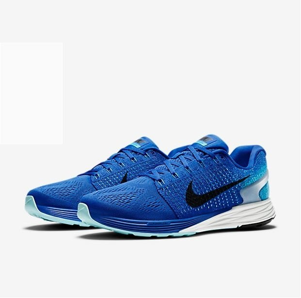 "Кроссовки Nike Lunarglide 7 ""Game Royal/Blue Lagoon"""