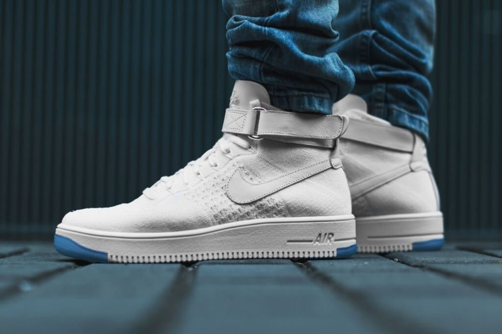"Nike Air Force 1 Ultra Flyknit Mid ""White"""