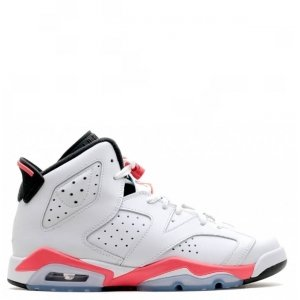"Кроссовки Nike Air Jordan 6 Retro ""White/Infrared"""