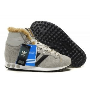 "Кроссовки Adidas Jogging Hi S.W. Star Wars Chewbacca ""Grey"""