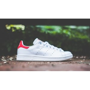 "Кроссовки Adidas Stan Smith ""White/Red"" Арт. 0439"