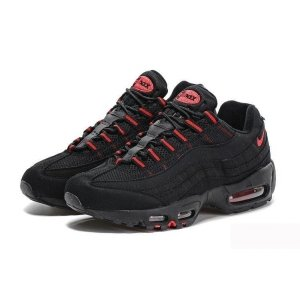 "Кроссовки Nike Air Max 95 Essential ""Black/Red"""
