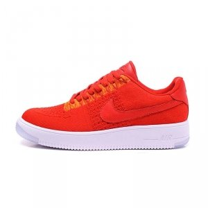 "Кроссовки Nike Air Force 1 Ultra Flyknit Low ""University Red"" Арт. 0462"