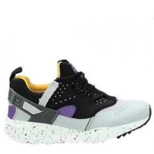 "Кроссовки Nike Air Huarache Utility ""Grey/Yellow"" Арт. 0480"