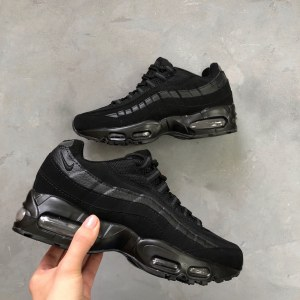 "Кроссовки Nike Air Max 95 ""Triple Black"" Арт. 0550"