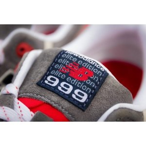 "Кроссовки New Balance 999 Elite Edition ""Grey/Red"" Арт. 0731"