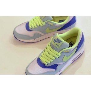 "Кроссовки Nike Air Max 87 ""Premium Julep Liquid Lime/White"" Арт. 1013"