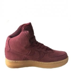 "Кроссовки Nike Air Force 1 Mid ""Team Red New"" Арт. 0666"