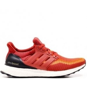 "Кроссовки Adidas Ultra Boost ""Red Gradient"""