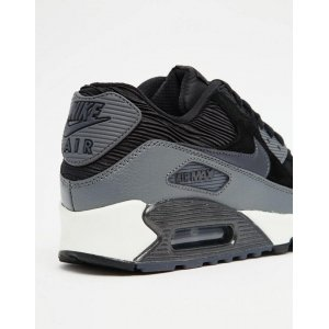 "Кроссовки Nike Air Max 90 ""Black And Grey Trainers"""