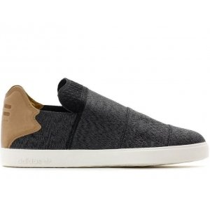 "Кроссовки-слипоны Adidas Vulc Powerweb ""Core Black/Granite/Chalk White"" Арт. 0693"