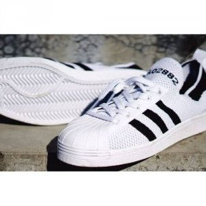 "Кроссовки Adidas Superstar 80s ""White/Black"""