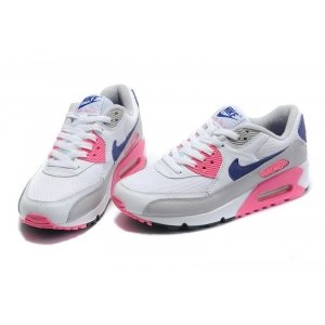 "Кроссовки Nike Air Max 90 ""White/Blue/Rose/Grey Tape"""