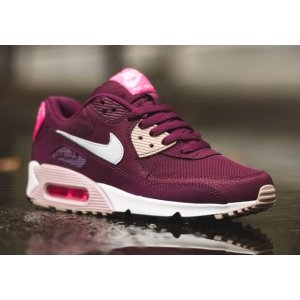 "Кроссовки Nike Air Max 90 Essential ""Burgundy/White/Pink"" Арт. 1225"