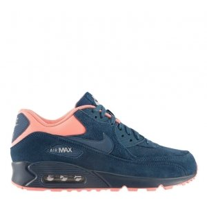"Кроссовки Nike Air Max 90 PRM ""Brave Blue/Atomic Pink"" Арт. 0267"