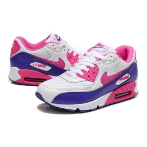 "Кроссовки Nike Air Max 90 ""White/Blue/Rose"""