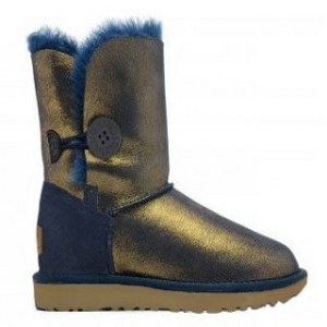 UGG BAILEY BUTTON II METALLIC
