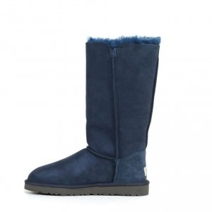"UGG BAILEY BUTTON TRIPLET II BOOT ""NAVY"" Арт. 0577"