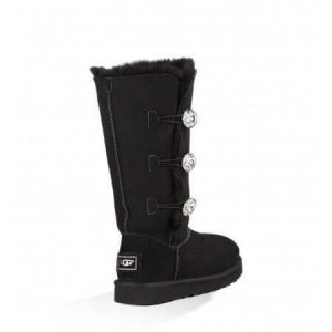 "UGG BAILEY BUTTON TRIPLET II BOOT BLING ""BLACK"" Арт. 0576"
