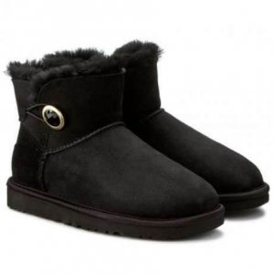 "UGG Bailey Button Mini Ornate ""Black"" Арт. 0572"