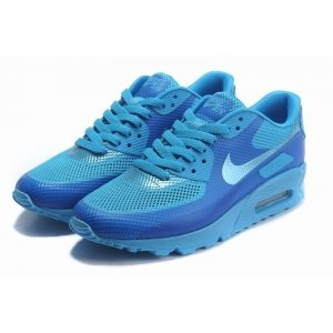 "Кроссовки Nike Air Max 90 Hyperfuse ""Triple Blue"""