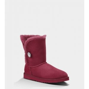 "UGG Bailey Button Bling ""Bordo"" Арт. 1044"
