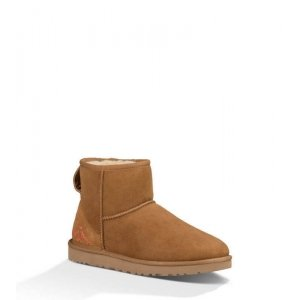 "UGG Classic Mini ""Chestnut Ornament"" Арт. 0585"