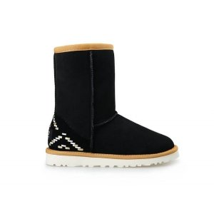 "UGG Classic Short ""Black Ornament"" Арт. 1620"