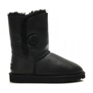 UGG Baby Bailey Button Leather