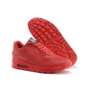Nike Air Max 90 Hyperfuse Independence Day (красные)