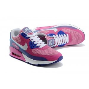 "Кроссовки Nike Air Max 90 Hyperfuse Premium ""Peach/Blue/White"""