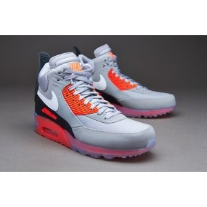 "Кроссовки Nike Air Max 90 SneakerBoot Ice ""Infrared"" Арт. 0624"