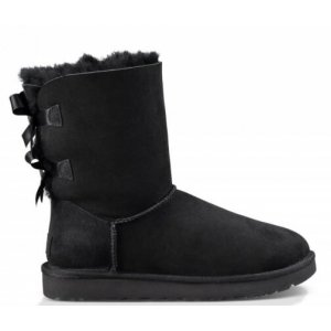 "UGG BAILEY BOW II BOOT ""BLACK"" Арт. 1522"