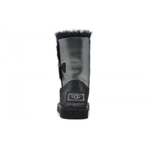 "UGG BAILEY BUTTON II BOOT LEATHER I DO ""BLACK"" Арт. 1535"