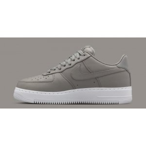 "Кроссовки NikeLab Air Force 1 Low ""Light Charcoal/White"" Арт. 0970"