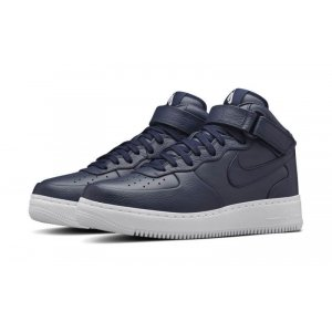 "Кроссовки NikeLab Air Force 1 Mid ""Obsidian"" Арт. 0973"