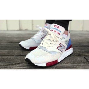 "Кроссовки New Balance 998 Bt National Parks ""White/Grey"""