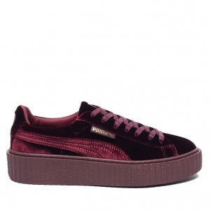 "Кроссовки Puma x Rihanna Fenty Creeper Velvet ""Royal/Purple"" Арт. 1377"