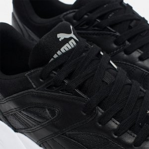 "Кроссовки Puma R698 Core Leather ""Black"""