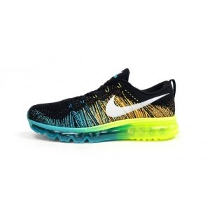 Nike Air Max Flyknit 2015 Black/Blue/Green